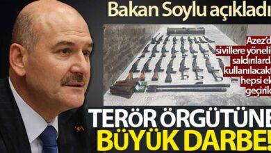 Photo of Bakan Soylu açıkladı! PKK/YPG'ye, Azez'de büyük darbe