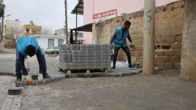 Photo of Haliliye'nin 4 mahallesinde yol yapım çalışması