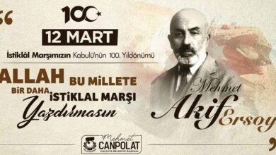 Photo of Canpolat'tan İstiklal Marşı Mesajı