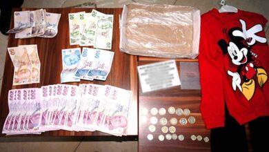Photo of Dilencinin üzerinden 14 bin lira çıktı