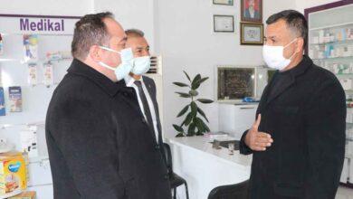 Photo of Başkan Ekinci Eczaneleri ziyaret etti