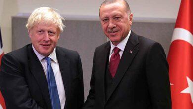 Photo of Erdoğan, İngiltere Başbakanı Johnson ile görüştü