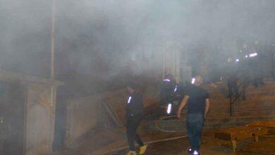 Photo of Öfkeli şahıs, sokaktaki tüm evleri ateşe verdi