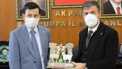 Photo of Başkan Eyyüpoğlu'ndan Başkan Kırıkçı'ya Ziyaret
