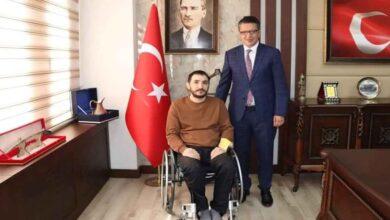 Photo of 15 Temmuz Gazisinden Başkan Albayrak'a Ziyaret