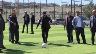 Photo of Albayrak, Futbol Sahasının Açılışını Yaptı