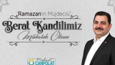 Photo of Başkan Canpolat: Berat Kandilimiz mübarek olsun