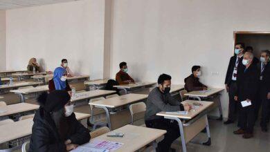 Photo of HRÜ, Yabancı öğrenci sınavını yaptı