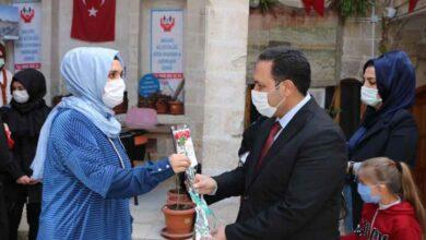Photo of Hasan Bilici Kadınlar Gününü Kutladı
