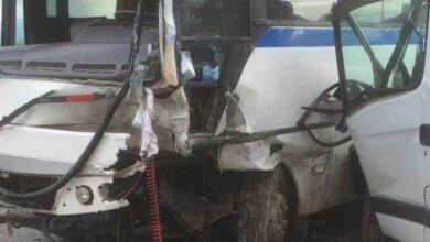Photo of İşçi servisi çarpıştı: 10 yaralı