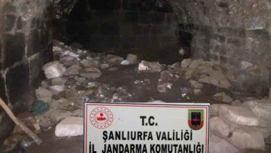 Photo of Urfa'da Kaçak Kazıda Mezar Odası Bulundu