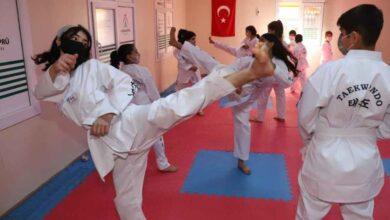 Photo of Karaköprü'de tekvando kursuna yoğun ilgi