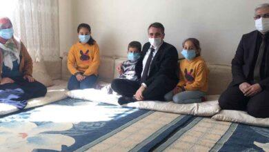 Photo of Kaymakam Metin Esen, Kıraç ve Demirci ailelerine ziyarette bulundu