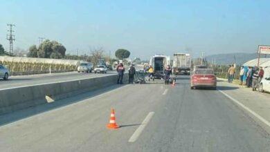 Photo of İki motosiklet çarpıştı: 1 ölü, 1 yaralı