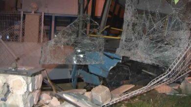 Photo of Kontrolden çıkan otobüs ortalığı savaş alanına çevirdi