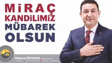 Photo of Başkan Özyavuz'dan Miraç Kandili Mesajı