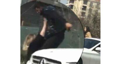 Photo of Kız Arkadaşını Sokak Ortasında Dövdü