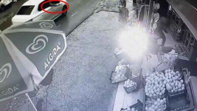 Photo of Arabanın İçinden Markete Silahlı Saldırı