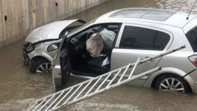 Photo of Otomobil Sulama Kanalına Uçtu