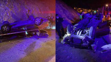Photo of Kontrolden çıkan otomobil takla attı: 1 ölü, 1 yaralı