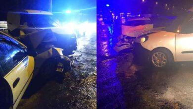 Photo of Hafif ticari araç otomobil ile çarpıştı : 1'i ağır 5 yaralı