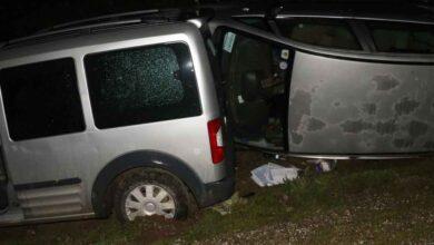 Photo of Üç araç birbirine girdi: 2 Yaralı