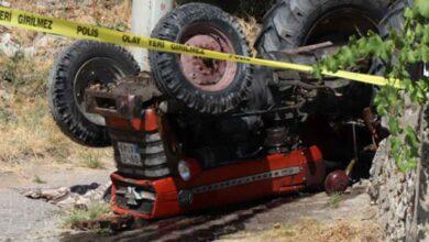 Photo of Traktör Devrildi! 1 Kişi Hayatını Kaybetti