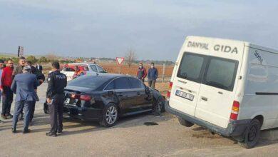 Photo of Urfa İYİ Parti konvoyunda kaza: 4 yaralı