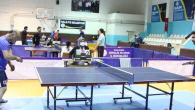 Photo of Şanlıurfa'da masa tenisi liği başladı