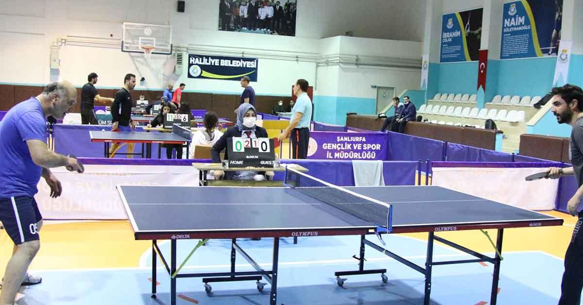 Şanlıurfa'da masa tenisi liği başladı