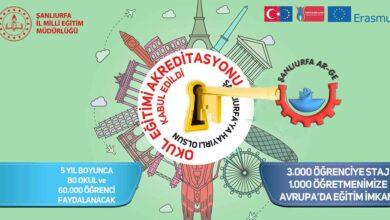 Photo of Urfa MEM: Öğrencilerimize Avrupa Kapıları Açık