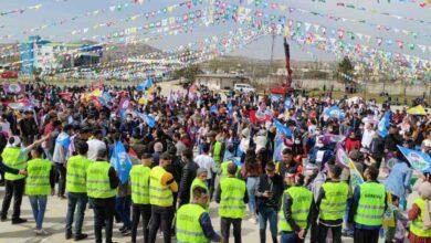 Photo of Şanlıurfa'da Nevruz kutlamalarında polis, terör örgütü propagandasına geçit vermedi
