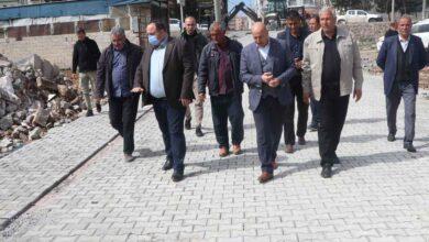 Photo of Viranşehir Belediyesi'nden parke taşı calışması