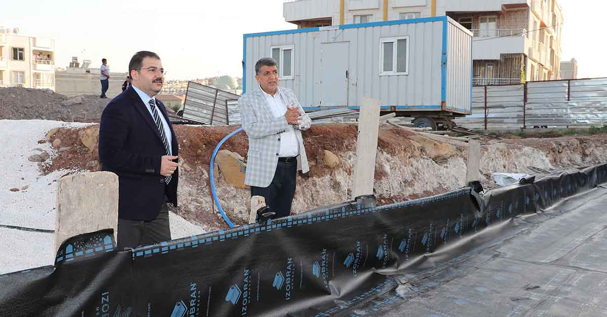 Canpolat: Ahmet Yesevi mahallemize hayırlı olsun