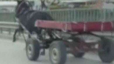 Photo of Sürücüsüz at arabası trafiği bir birine kattı