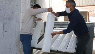 Photo of Şanlıurfa'da 'buz devri' başladı