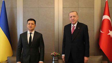 Photo of Erdoğan ile Zelenskiy ortak açıklama yapıyor