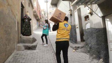 Photo of Eyyübiye'de yardım faaliyetleri sürüyor