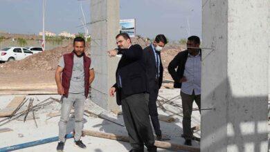 Photo of Göbeklitepe kültürevi inşaatı hızla yükseliyor
