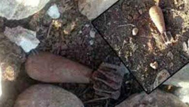 Photo of Şanlıurfa'da Oyun oynayan çocuklar havan mermisi buldu
