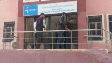 Photo of Şanlıurfa'da İş-Kur'u Basıp Çalışanı Darp Ettiler