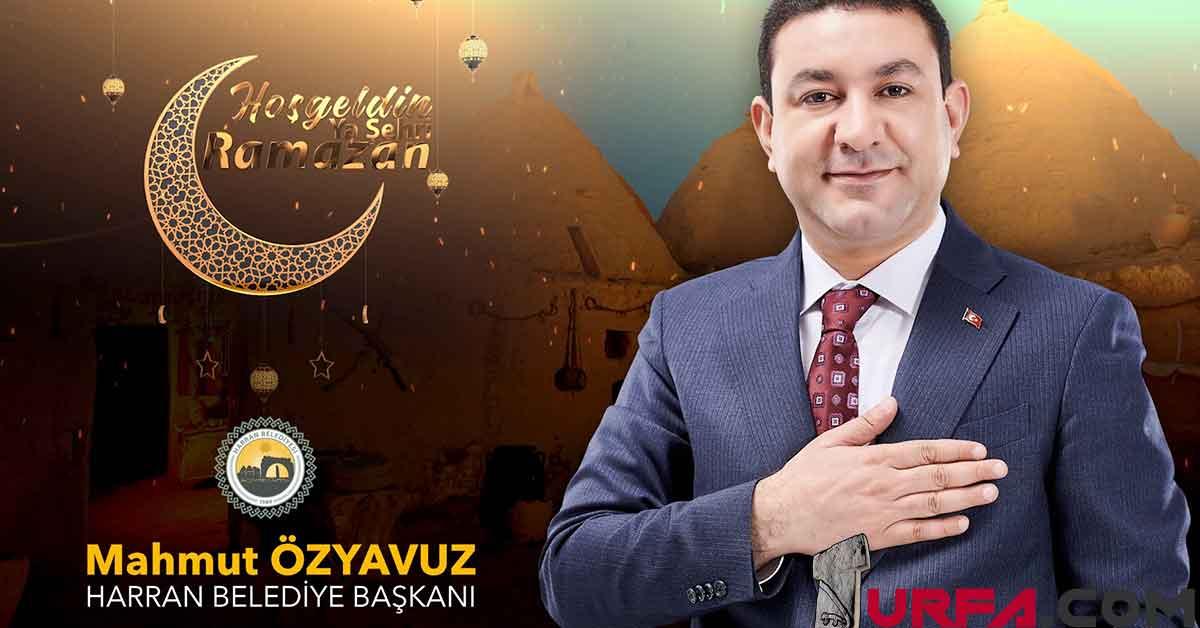 Başkan Özyavuz'dan Ramazan Ayı Mesajı