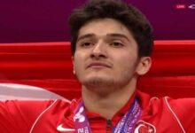 Photo of Muhammed Furkan Özbek, halterde Avrupa şampiyonu