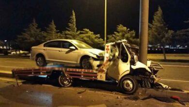 Photo of Çekici direğe çarptı, sürücü hayatını kaybetti