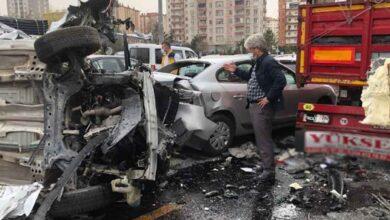 Photo of Zincirleme kazada ortalık savaş alanına döndü