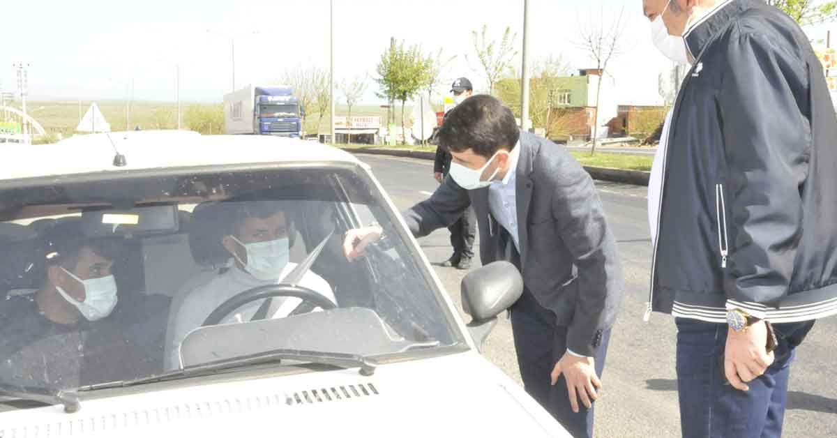Urfa'da 480 Kişiye Ceza Yazıldı