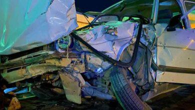 Photo of Şanlıurfa'da kamyonet ile otomobil çarpıştı: 1 yaralı