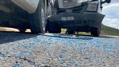 Photo of Şanlıurfa'da Kamyonet ile minibüs çarpıştı: 2 yaralı