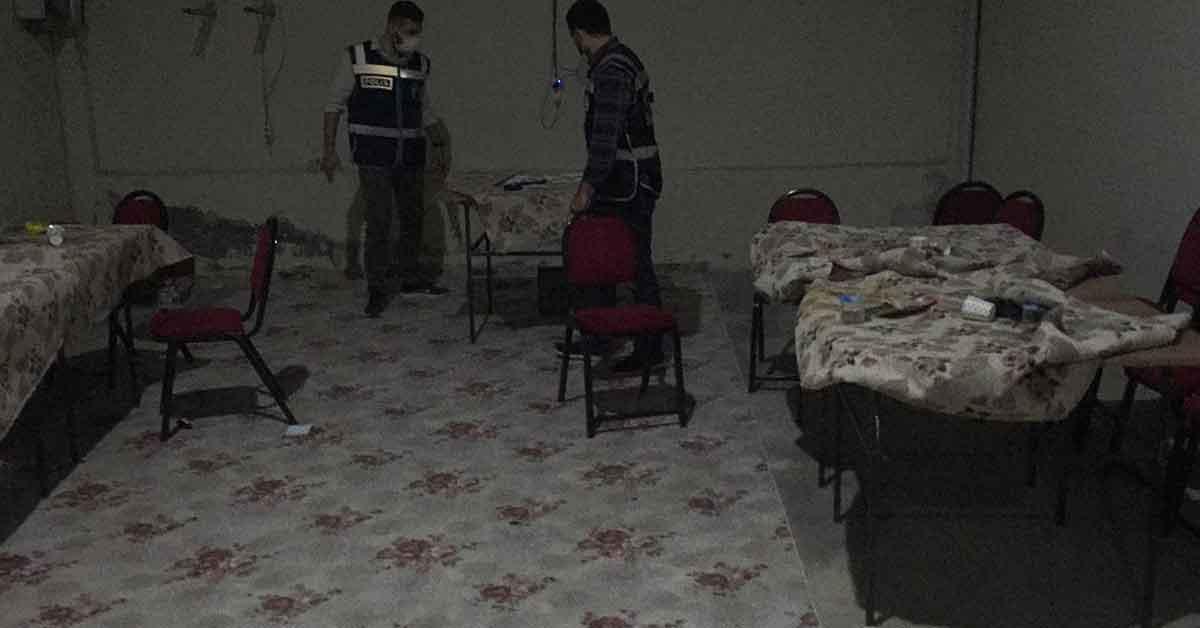 Şanlıurfa'da Kumar oynayan 30 kişiye para cezası