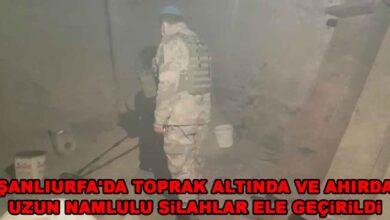 Photo of Urfa'da Jandarmadan silah kaçakçılığı operasyonu